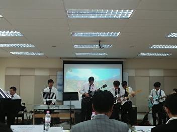 The creative research presentation of Music SSRU