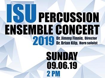 ISU Percussion Concert 2019
