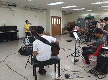 Music Reheresal with Korn Tapparangsri