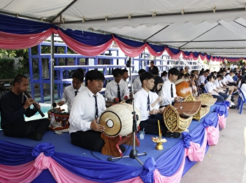 Thai Music SSRU in The Ceremony of Remembrance for Queen consort Sunandha Kumariratana on occasion of 159th birthday