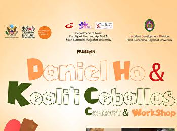 Daniel Ho & Kealii Cebabllos Concert & Workshop